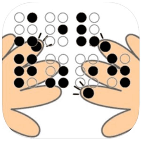 点字タイプライタのように点字学習「ゆびてんじ」