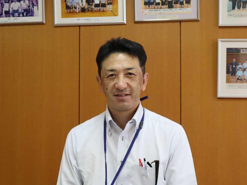 副校長 吉田浩司 先生の写真