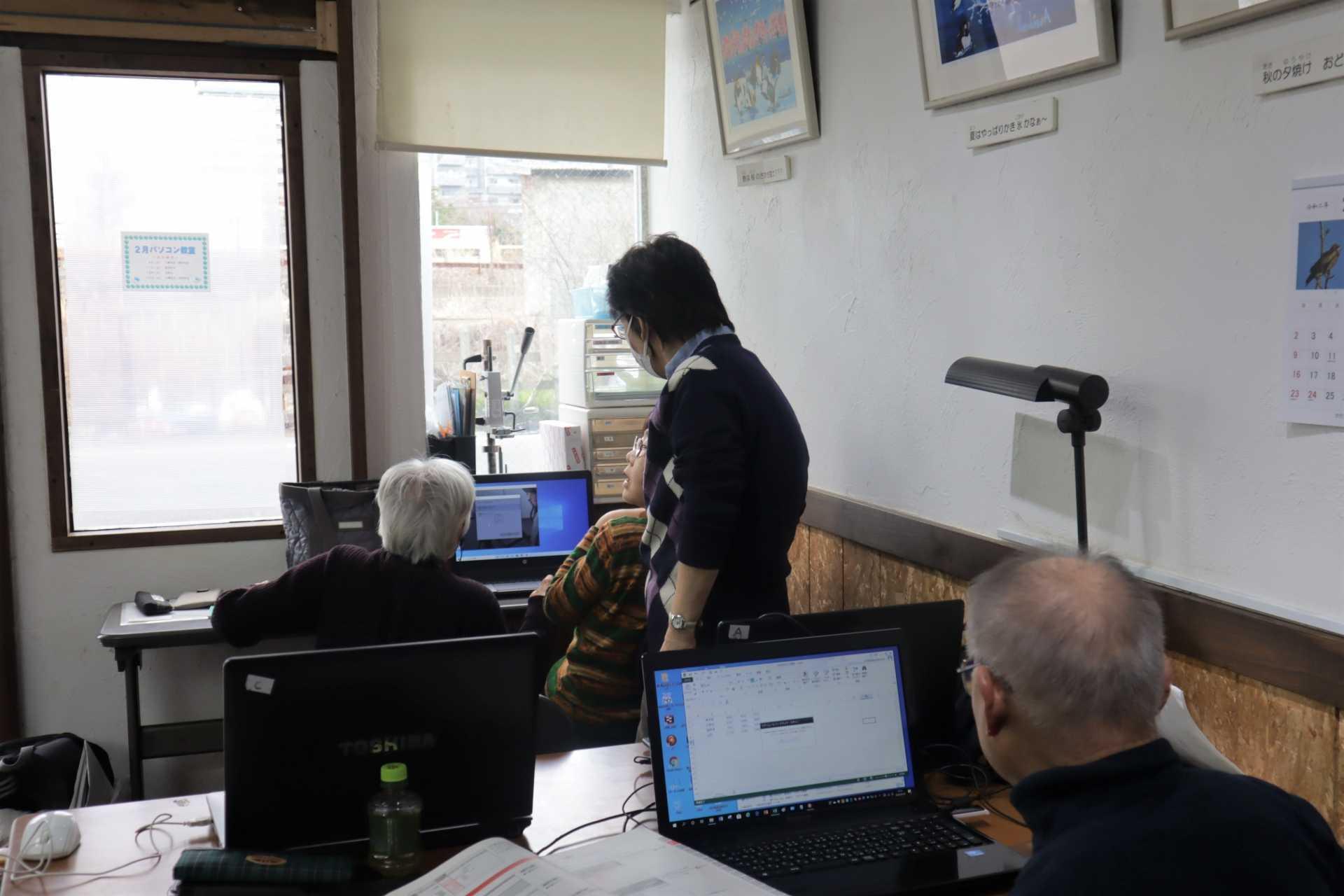 「パソコンひろば平塚」 授業の様子