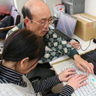 パソコンボランティアイメージ